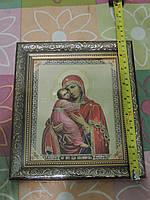 """Икона """"Богоматерь Владимирская"""". Размер 23 х 20 см."""