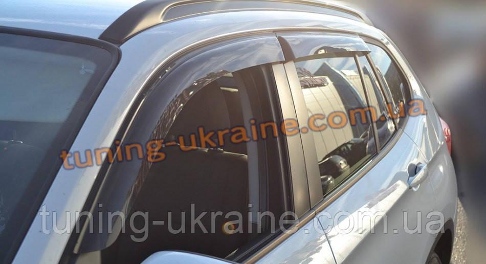 Дефлекторы окон (ветровики) Cobra Tuning на BMW X1 (E84) 2009-12