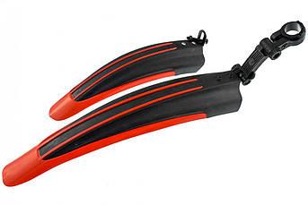 Крылья велосипедные (MTB) (красные) (mod:14)