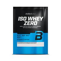 Протеин BioTech Iso Whey Zero, 25 грамм Белый шоколад
