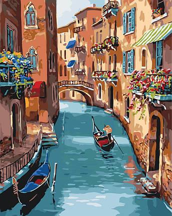 КНО2153 Раскраска по номерам Солнечная Венеция, Без коробки, фото 2