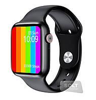 Розумні годинник з прийомом дзвінків і спорт-датчиками Unit Sport Watch-696, Gorilla Glass 2.5 D, IP68, Android і iOS Чорний