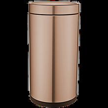 Ведро для мусора круглое JAH 25 л без крышки и внутреннего ведра Золото (6343)