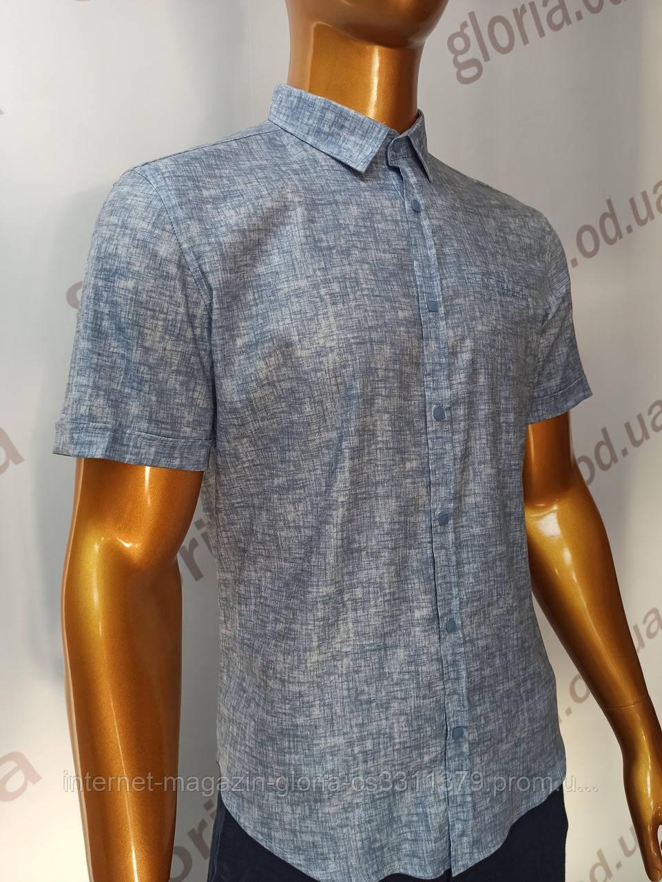 Мужская рубашка Amato. AG.19913(s). Размеры:L,XL(2), XXL.