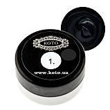 Гель-краска KOTO №1 5 гр (черная), фото 2