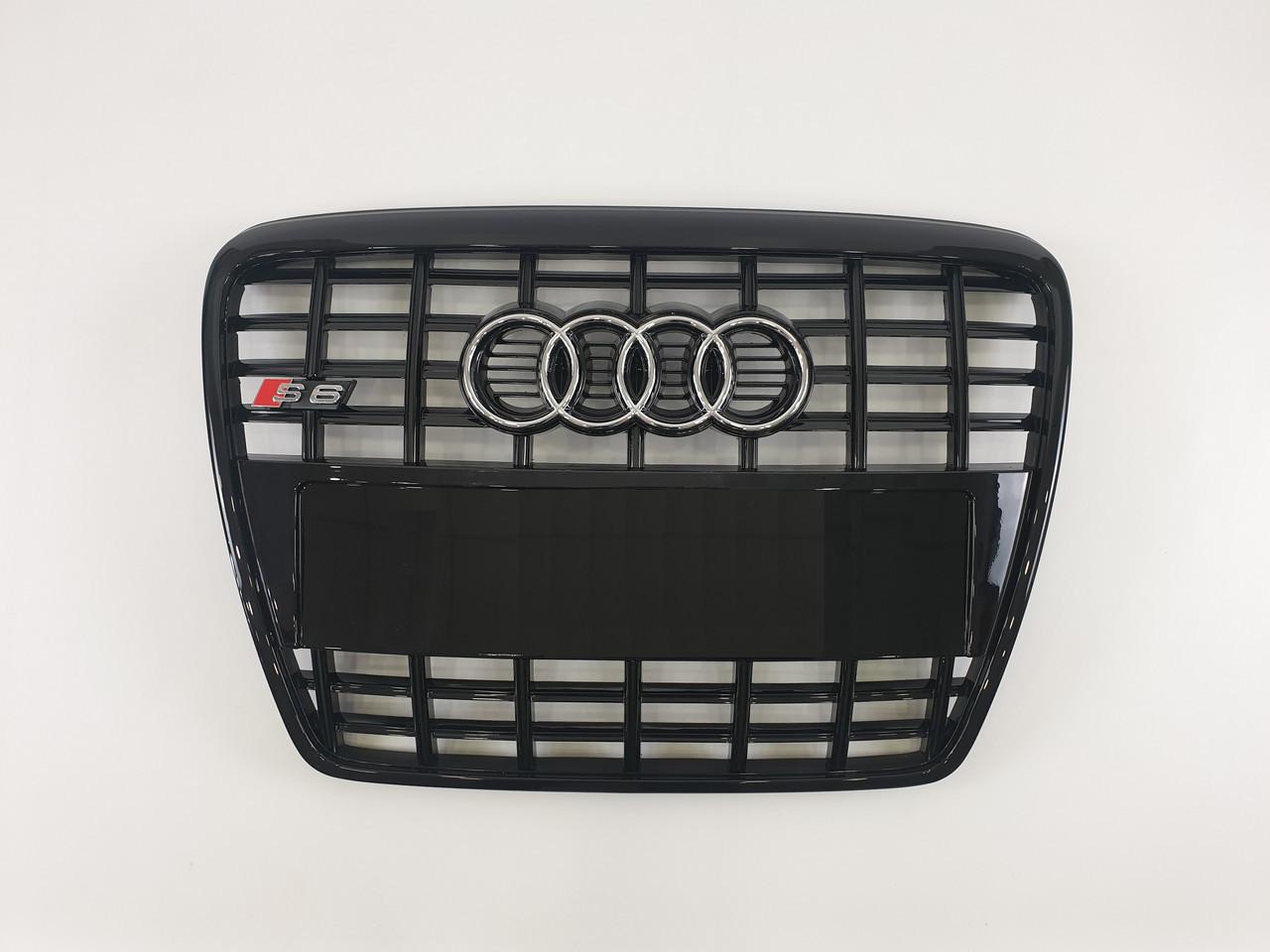 Решетка радиатора Тайвань Audi A6 C6 S6 04-11г С6 (hub_YtKw58495)