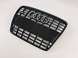 Решетка радиатора Тайвань Audi A6 C6 S6 04-11г С6 (hub_YtKw58495), фото 2