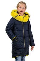 """Зимнее пальто """"Канарейка"""" рост128-152, фото 1"""