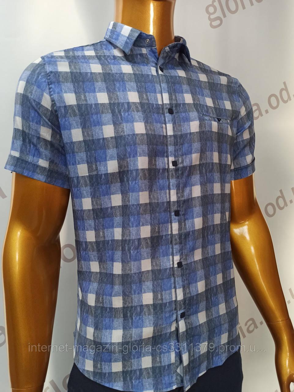 Мужская рубашка Amato. AG.KG19585(g). Размеры: L,XL(2),XXL.