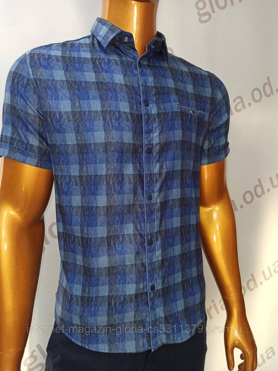 Мужская рубашка Amato. AG.KG19585(s). Размеры: L,XL(2),XXL.