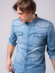 K - джинсовая рубашка TYLMAN