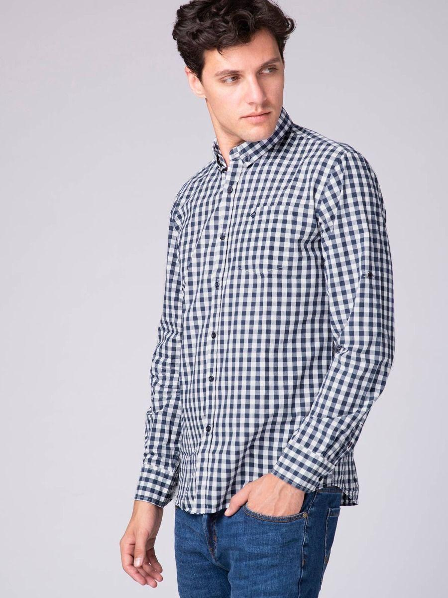 Мужская рубашка Volcano K-Cort