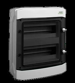 Щиток пластиковий накладний Noark PHS 24T IP65 2 рядa 12 модулів (101495)