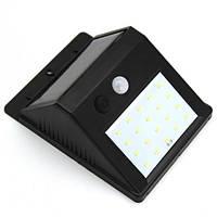 Уличный фонарь с датчиком движения на солнечной батарее Smart Light BL-609-20 20SMD 5115! Лучшая цена