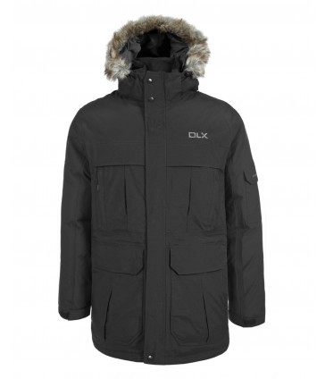 Зимняя мужская куртка парка Trespass MAJKDOL20001 Black