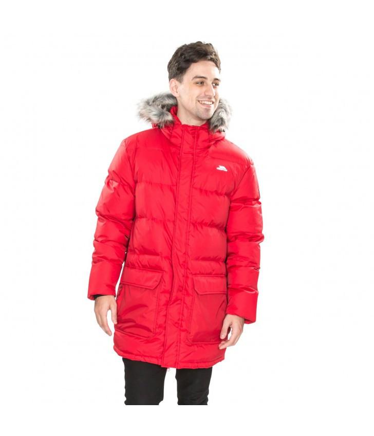 Зимний мужской пуховик Trespass MAJKDOM20005 Red