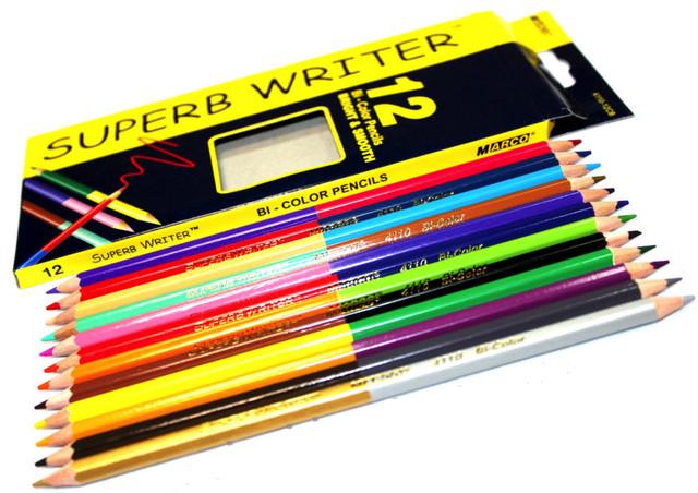 Набор из 12 карандашей 24 цвета Диаметр грифиля 2,9 мм Упаковка 12/240