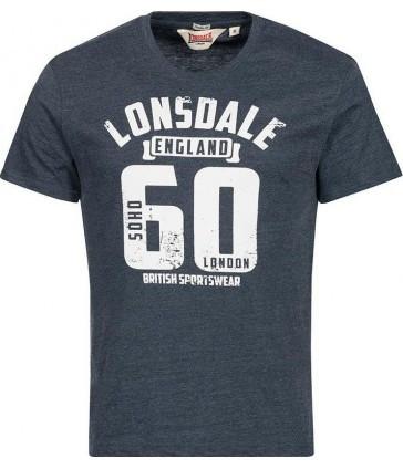 Мужская футболка Lonsdale 113801 Marl Navy