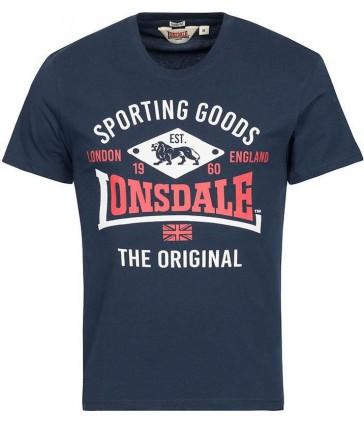 Мужская футболка Lonsdale 113770 Dark Navy