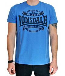 Мужская футболка Lonsdale 113767 Marl Blue