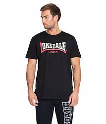 Мужская футболка Lonsdale 113170 Black