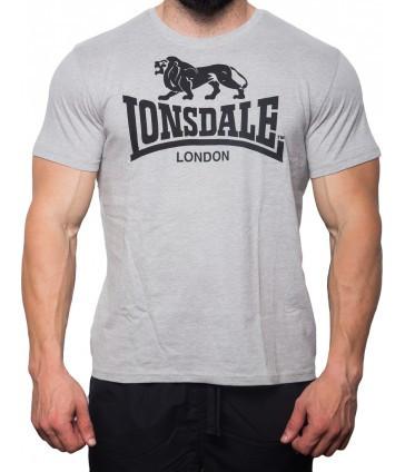 Мужская футболка Lonsdale 119083 Marl Grey