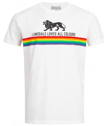 Мужская футболка Lonsdale 111011 White