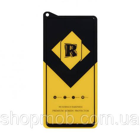 Защитное стекло R Yellow for Samsung A21s без упаковки Цвет Чёрный, фото 2