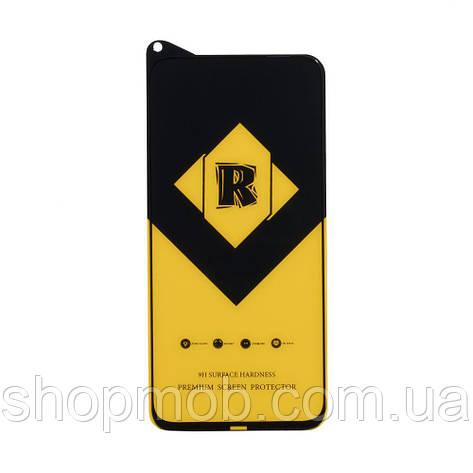 Защитное стекло R Yellow for Huawei P40 Lite без упаковки Цвет Чёрный, фото 2