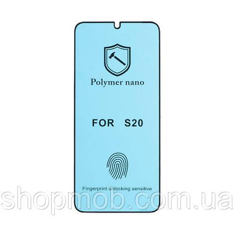 Защитное стекло PMMA Nano for Samsung S20 без упаковки Цвет Прозрачный, фото 2