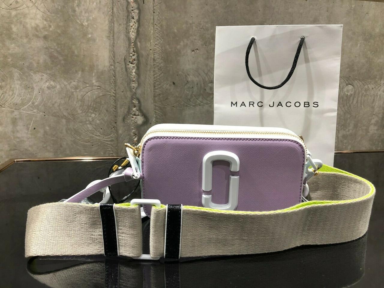 Marc Jacobs Snapshot DTM Small Camera Bag purple light
