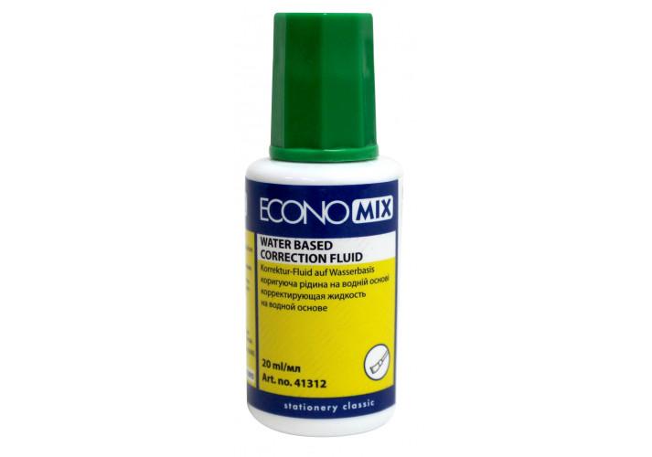 Коректор-рідина Economix, водна основа (E41312)
