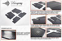 Mitsubishi Lancer X 2008+ гг. Резиновые коврики (4 шт, Stingray Premium)