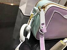 Marc Jacobs Snapshot DTM Small Camera Bag purple light, фото 3