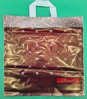"Пакет с петлевой ручкой ср п ламинир.""Форест 512"" (40х40+3) 90мк КВС (50 шт), фото 1"