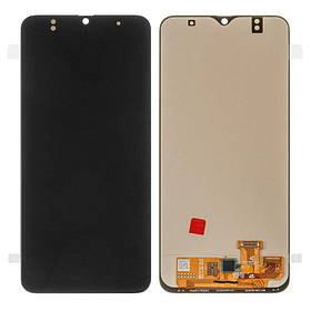 Дисплей (екран) для Samsung A305FD Galaxy A30 з сенсором (тачскріном) черный (OLED)