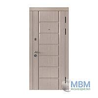 """Вхідні металеві двері в квартиру з МДФ """"Миськбудметал"""" Стандарт ДМВ-3"""