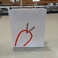 Печать на бумажных пакетах 20*8*24