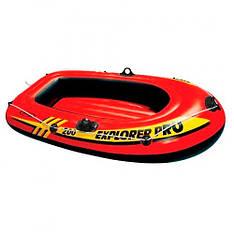 Надувная лодка Intex 58356 EXPLORER PRO 200, 196-102-33 см