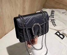 Замечательная сумка клатч на цепочке, фото 3