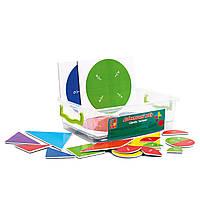 Дидактический набор «Дроби. Танграм» (на магнитах), Vladi Toys, фото 1