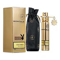 Montale Aoud Amber 20 мл с феромонами унисекс