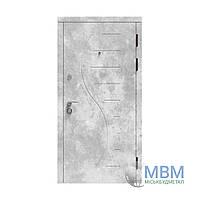 """Вхідні металеві двері в квартиру з МДФ """"Миськбудметал"""" Стандарт ДМВ-С4"""