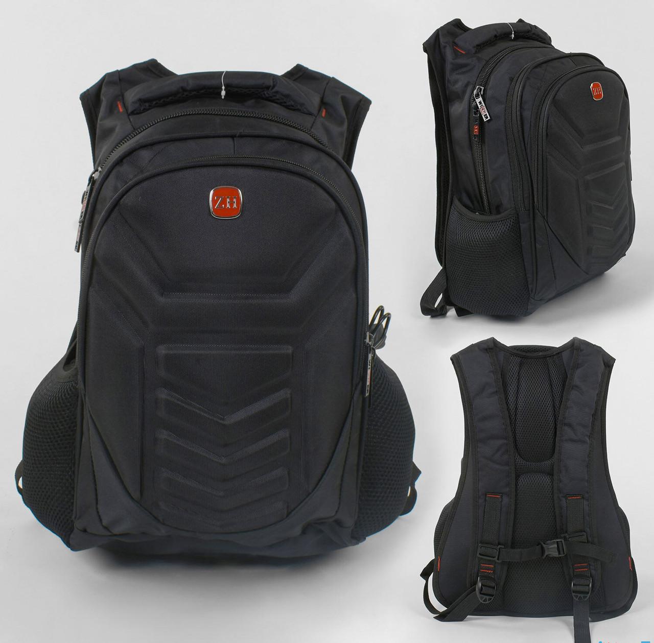 Рюкзак 1 отделение, 2 кармана, защитный бампер, USB кабель, в пакете.