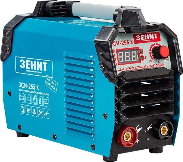Зварювальний апарат інверторного типу Зеніт ЗСИ-255 K 845765