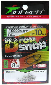 Застежка Американка Intech Drop Snap (10шт.)