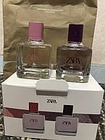 Духи Zara В Наборе Gardenia/Orchid /Парфуми/Туалетная Вода SET2 x 30 мл