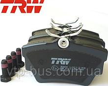 Тормозные колодки задние на Renault Trafic / Opel Vivaro / Nissan Primastar (2001-2014) TRW (Германия) GDB1479