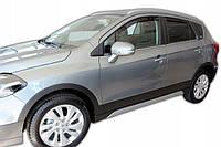 Дефлектори вікон вставні Suzuki SX4 ІІ S-Cross 2013 -> 5D