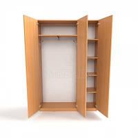 Шкаф школьный для верхней одежды ШО-4, фото 1